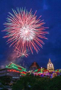 PhotoVivo Honor Mention - Giap Chiu Teo (Singapore) <br /> On 20 Firework At Seng Kang