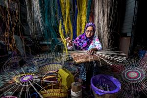SIHIPA Merit Award - Siew Thong Chu (Malaysia) <br /> Bakul Maker