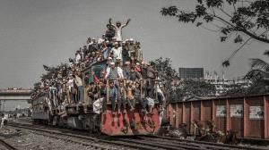 PhotoVivo Honor Mention - Shicong Xiao (China)  Crowded Train