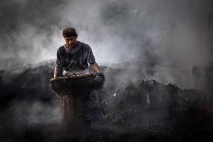 SIHIPC Merit Award - Tan Chea Chai (Malaysia)  Burning Charcoal 1