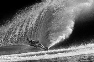 PhotoVivo Gold Medal - Albert Peer (Austria)  Waterski