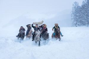 SIHIPC Merit Award - Fengliang Zou (China) <br /> Horse Race In Snow 2