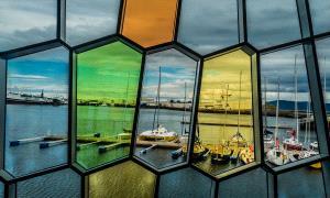 SIHIPC Merit Award - Larry Mars (USA)  Harbor View