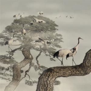 SIHIPC Bronze Medal - Ruiyuan Chen (China)  Longevity Crane