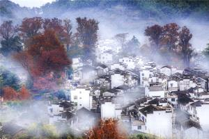 PhotoVivo Honor Mention - Feiyang Zhong (China)  Village Of Autumn